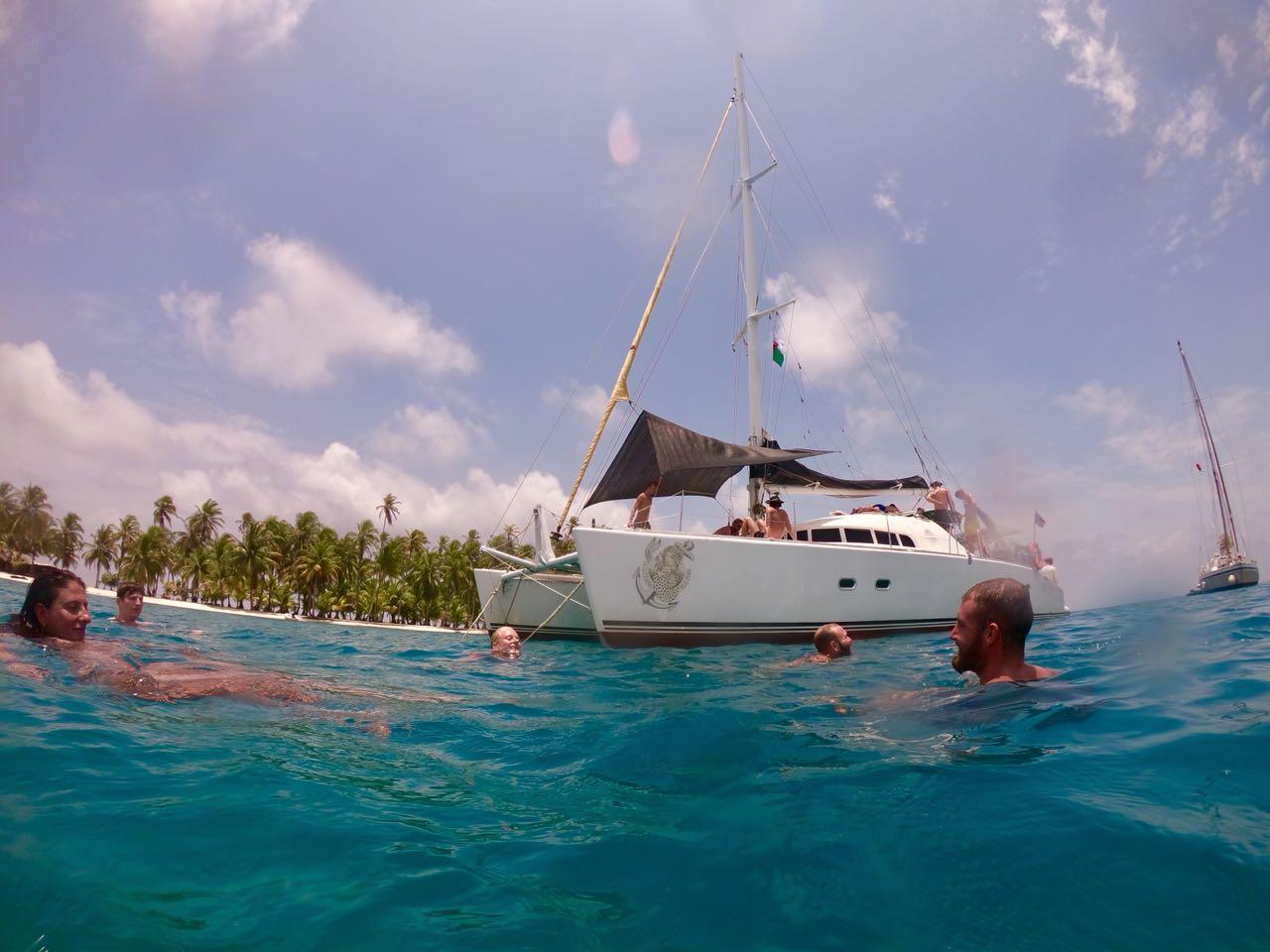 Gitano del mar catamaran san blas tour