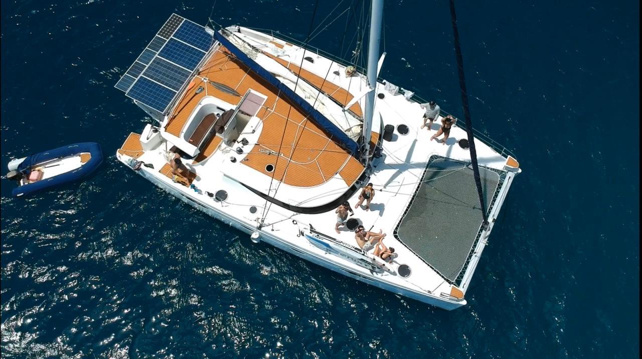 Onatigle catamaran San-Blas