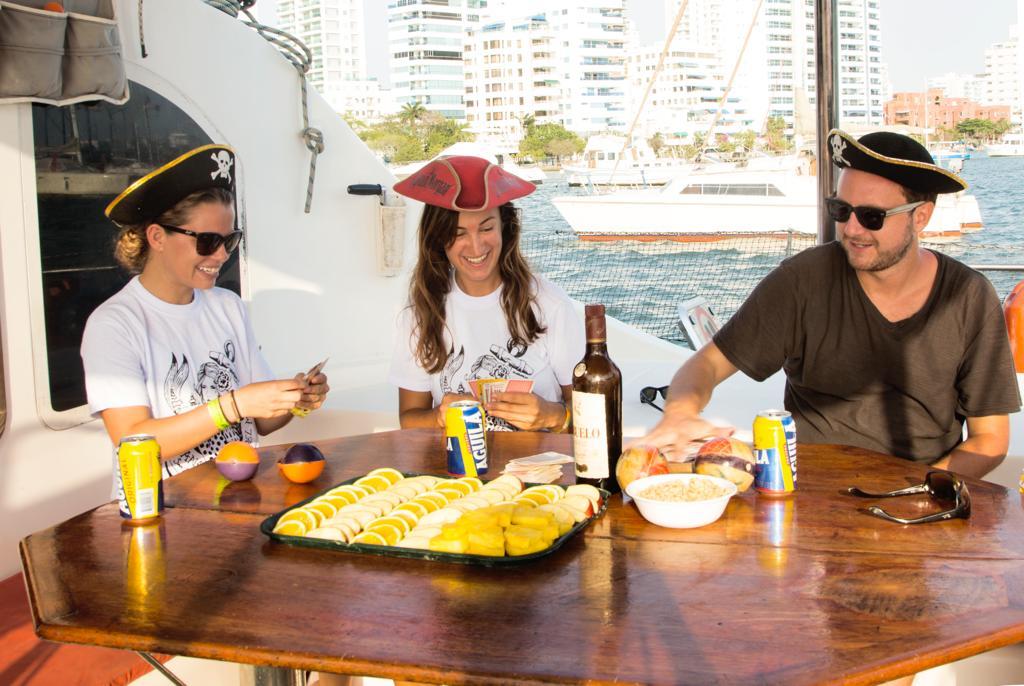 Gitano crew catamaran San Blas