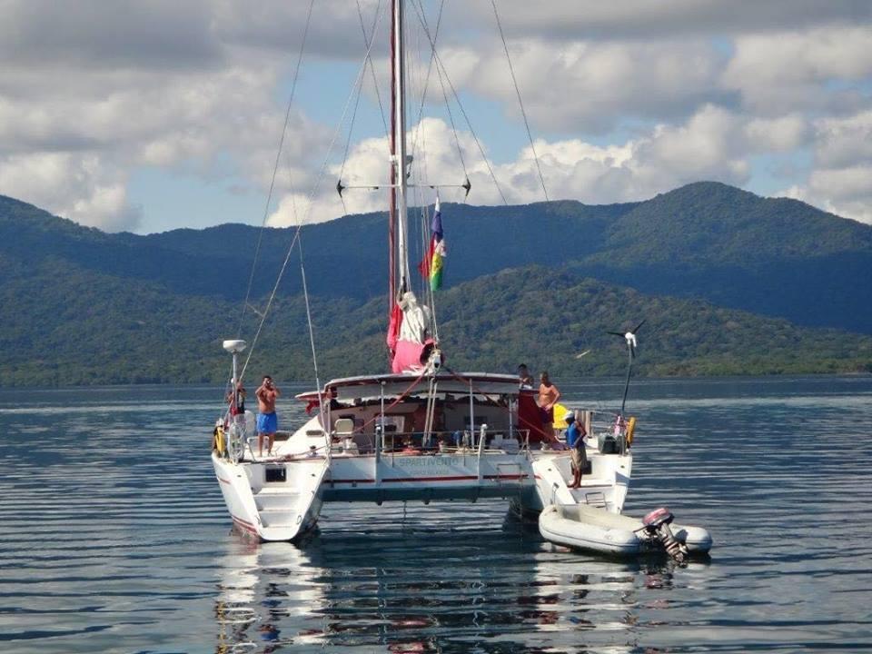 spartivento lagoon 55 charter to san blas
