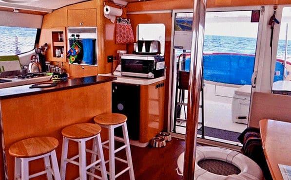 zenith san blas catamaran rental with air conditioning