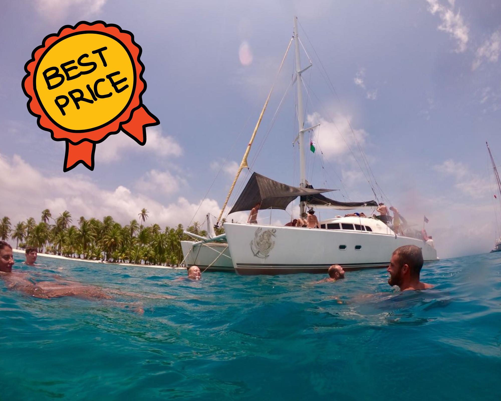 Gitano del mar catamaran san blas best deal boat rental